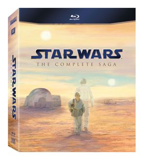 Star wars saga blu ray
