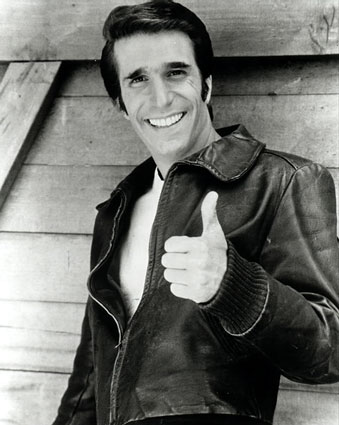 thumbs up fonzie